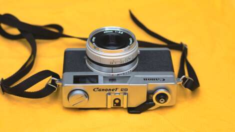 Canon Canonet 28: The beauty that lies in simplicity