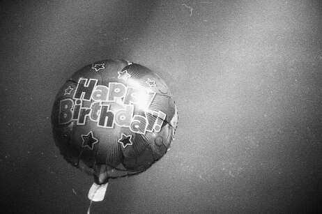Shot on a Petri 19 with FOMOPAN 200 at a birthday party.