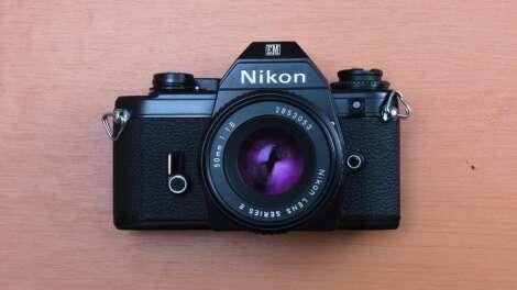 Nikon EM: Just cute, simple and friendly